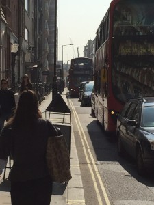Oxford Street Pedestrianisation Threatens Pollution in Fitzrovia